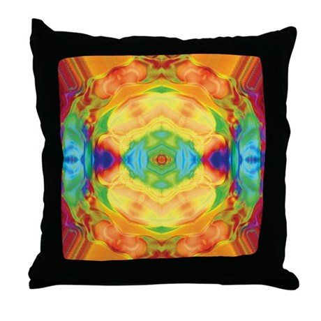 Ring Gem Throw Pillow