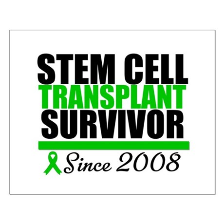SCT Survivor Green Ribbon Small Poster
