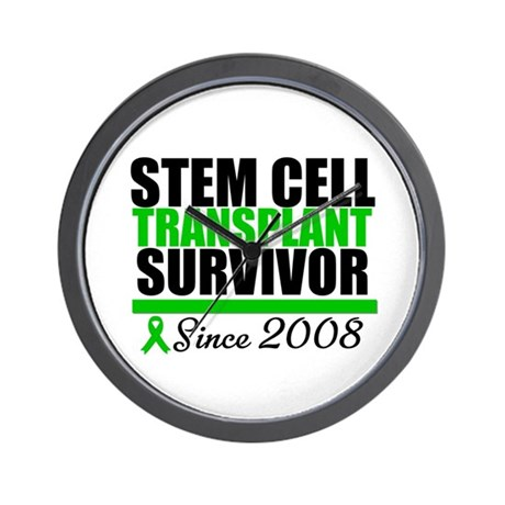 SCT Survivor Green Ribbon Wall Clock