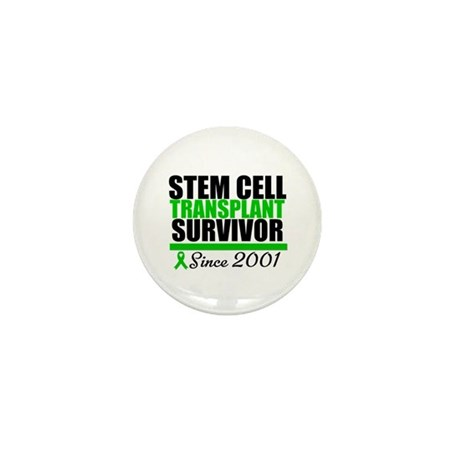 SCT Survivor Green Ribbon Mini Button (100 pack)