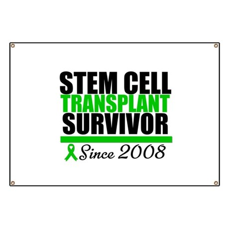 SCT Survivor Green Ribbon Banner