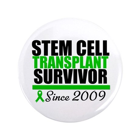 "SCT Survivor Since 2009 3.5"" Button (100 pack)"