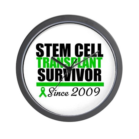SCT Survivor Since 2009 Wall Clock