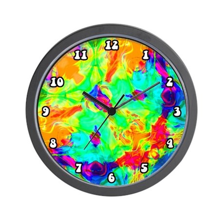 Color Splash Wall Clock
