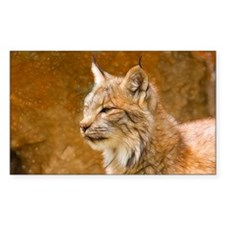 Fractalius Lynx Rectangle Sticker 50 pk)