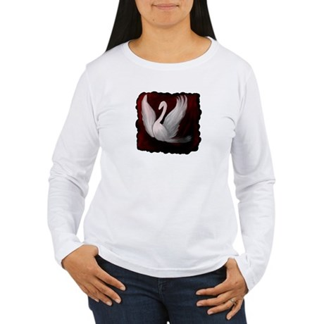 Swan Twilight Women's Long Sleeve T-Shirt