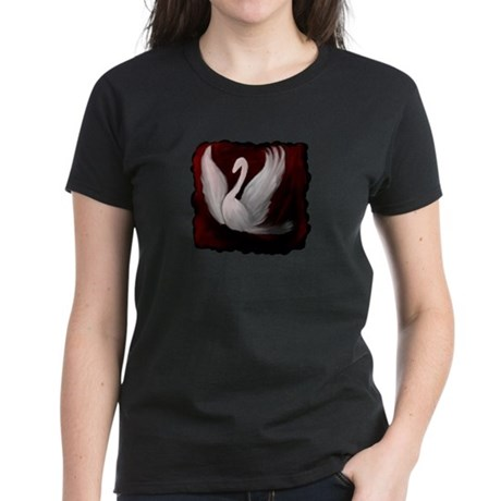 Swan Twilight Women's Dark T-Shirt
