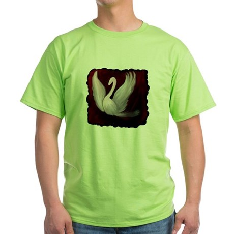 Swan Twilight Green T-Shirt