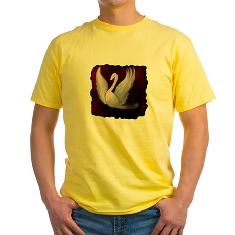 Swan Twilight Yellow T-Shirt