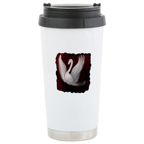Swan Twilight Ceramic Travel Mug