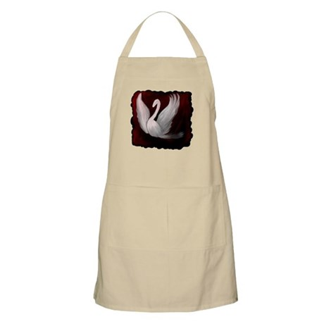 Swan Twilight BBQ Apron