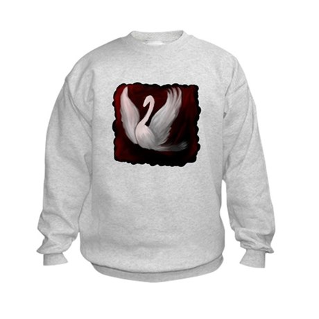 Swan Twilight Kids Sweatshirt
