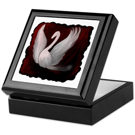 Swan Twilight Keepsake Box