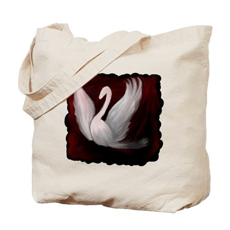 Swan Twilight Tote Bag