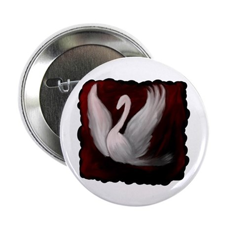 "Swan Twilight 2.25"" Button"