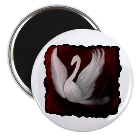 Swan Twilight Magnet