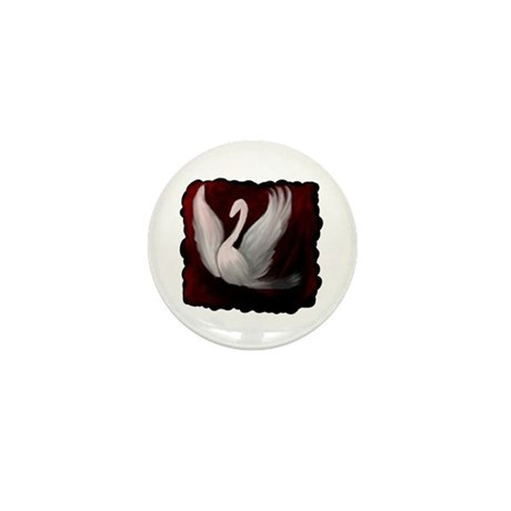 Swan Twilight Mini Button
