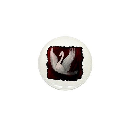 Swan Twilight Mini Button (10 pack)
