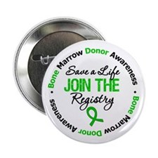"BoneMarrowDonor SaveLife 2.25"" Button (10 pack)"