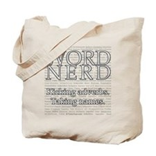 Word Nerd Tote Bag