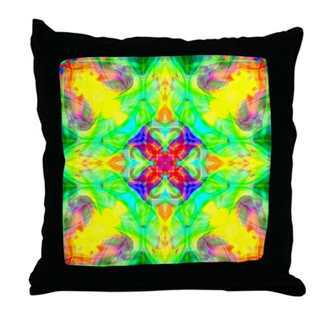 Spring Sunrise Throw Pillow