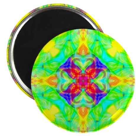 "Spring Sunrise 2.25"" Magnet (100 pack)"