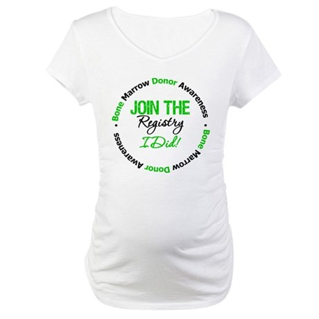 BMT Join The Registry I Did Maternity T-Shirt