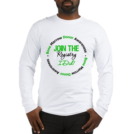 BMT Join The Registry I Did Long Sleeve T-Shirt
