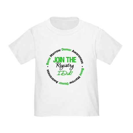 BMT Join The Registry I Did Toddler T-Shirt