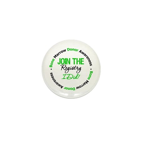 BMT Join The Registry I Did Mini Button (10 pack)