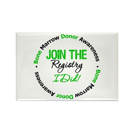 BMT Join The Registry I Did Rectangle Magnet (100