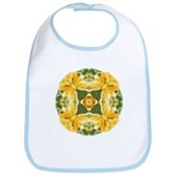 Shining Day Mandala Bib