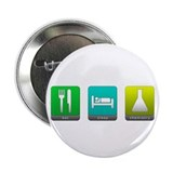 "Eat, Sleep, Chemistry 2.25"" Button (10 pack)"