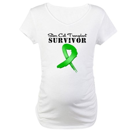 SCT Survivor Grunge Maternity T-Shirt