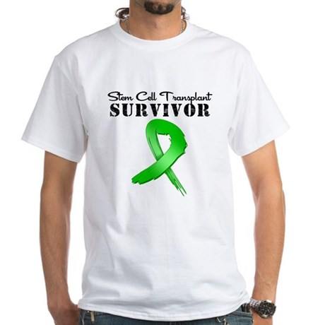 SCT Survivor Grunge White T-Shirt