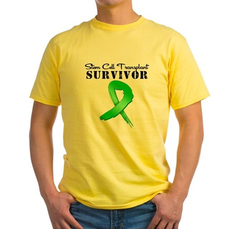 SCT Survivor Grunge Yellow T-Shirt