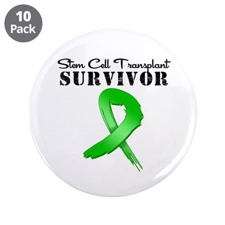 "SCT Survivor Grunge 3.5"" Button (10 pack)"
