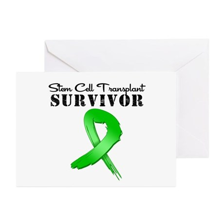 SCT Survivor Grunge Greeting Cards (Pk of 20)