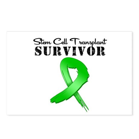 SCT Survivor Grunge Postcards (Package of 8)