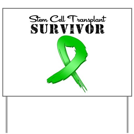 SCT Survivor Grunge Yard Sign