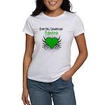 SCT Survivor Grunge Heart Women's T-Shirt