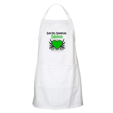 SCT Survivor Grunge Heart BBQ Apron
