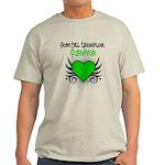 SCT Survivor Grunge Heart Light T-Shirt