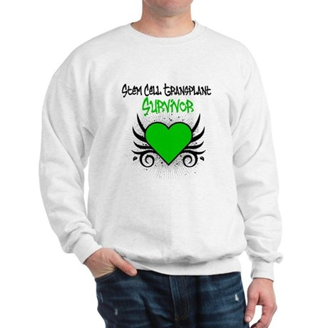 SCT Survivor Grunge Heart Sweatshirt