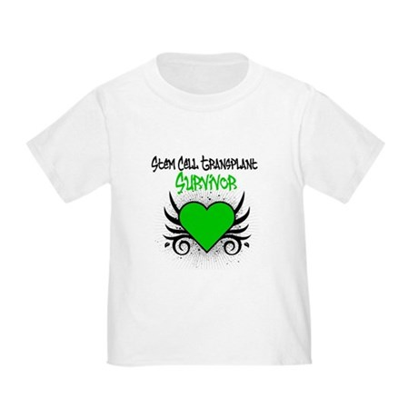 SCT Survivor Grunge Heart Toddler T-Shirt