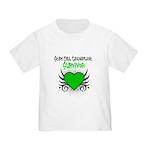 SCT Survivor Grunge Heart Toddler T-Shirt