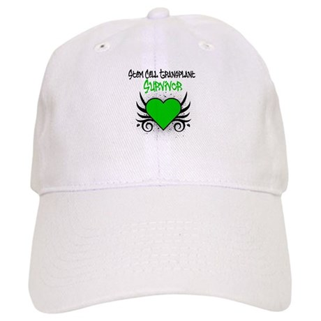 SCT Survivor Grunge Heart Cap