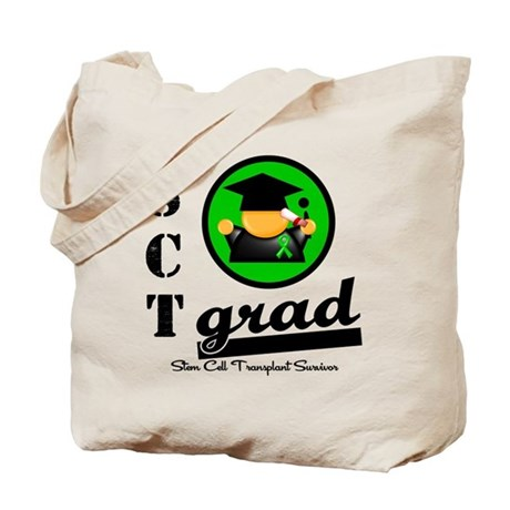 Stem Cell Transplant Grad Tote Bag