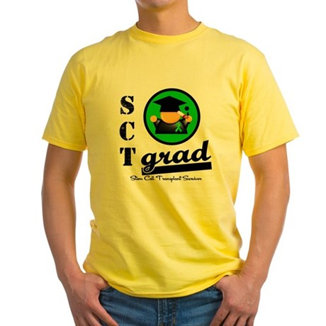 Stem Cell Transplant Grad Yellow T-Shirt