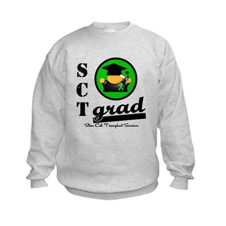 Stem Cell Transplant Grad Kids Sweatshirt